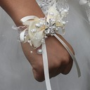 Freigeformt Satin Armbandblume (Sold in a single piece) -