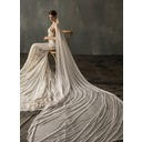 One-tier Cut Edge Cathedral Bridal Veils (006209270)