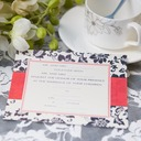Classic Style Flat Card Invitation Cards (Set of 50)