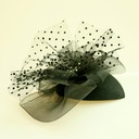Damene ' Vakkert Netto Garn/Rhinestone Fascinators/Tea Party Hats