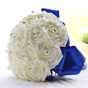 Fascinating Round Foam Bridal Bouquets