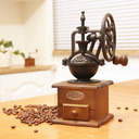 Retro Aluminum alloy Manual Coffee Grinder
