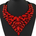 Gorgeous Alloy Resin With Resin Ladies' Fashion Necklace