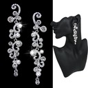 Pretty Alloy/Rhinestones Ladies' Earrings