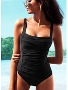 Elegant Underwire Push Up Polyester Spandex One-piece