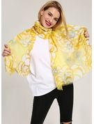 Striped Light Weight/Oversized/attractive/simple Cotton Scarf