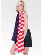 Striped Light Weight/Oversized Cotton Scarf