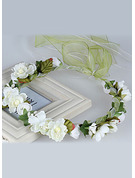 Silk Flower With Flower Flower Headband