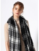 Color Block Oversized/simple/Cold weather Scarf