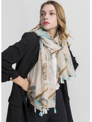Retro/Vintage Light Weight/Oversized Polyester Scarf