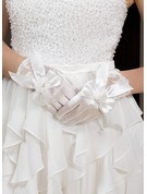 Elastic Satin Wrist Length Party/Fashion Gloves/Bridal Gloves