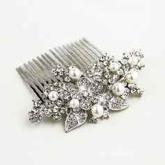 Ladies Classic Alloy/Imitation Pearls/Artificial Silk Combs & Barrettes