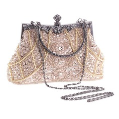 Fashionable Acrylic/Beading Clutches/Top Handle
