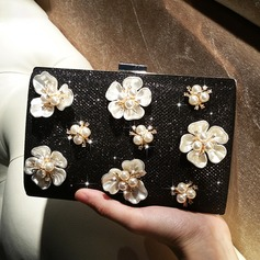 Refined Acrylic/Sparkling Glitter Clutches/Satchel
