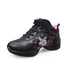 Kids' Leatherette Sneakers Modern Jazz Sneakers Salsa Dance Shoes