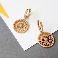 Alloy Rhinestones Women's Fashion Earrings