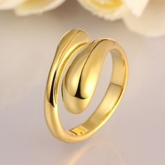 Exquisite Alloy Fashion Rings