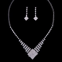 Sparking Alloy/Rhinestones Ladies' Jewelry Sets