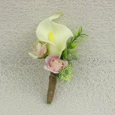 Girly de Satiné Boutonnière -