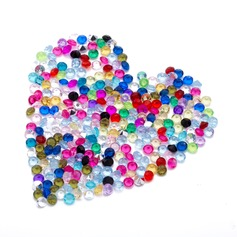 "1/6""(0.45cm) Colorful Diamond Pieces"