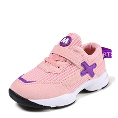 Unisex Closed Toe Mesh Low Heel Sneakers & Athletic With Velcro