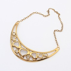 Shining Alloy Ladies' Fashion Necklace
