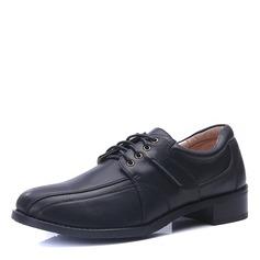 Herren Microfaser Leder Zuschnüren Abendschuhe Herren-Oxford-Schuhe