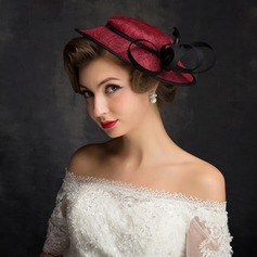 Ladies' Classic Net Yarn/Lace/Tulle/Linen With Tulle Fascinators