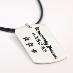 Personalized Couples' Hottest 925 Sterling Silver Engraved Necklaces For Bridesmaid/For Friends/For Couple