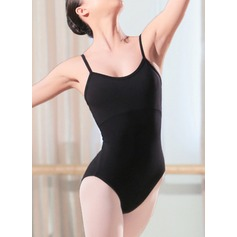 Women's Dancewear Spandex Ballet Practice Leotards (115121705)