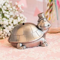 Lovely Tortoise Design Tin Alloy Money Box