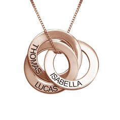 Personalized Ladies' Chic 925 Sterling Silver With Round Name/Engraved Necklaces For Bride/For Bridesmaid/For Mother/For Friends/For Couple