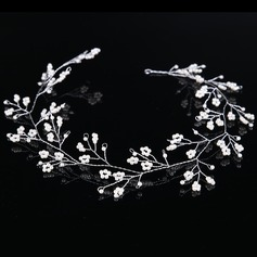 Beautiful Alloy Headbands With Pearl
