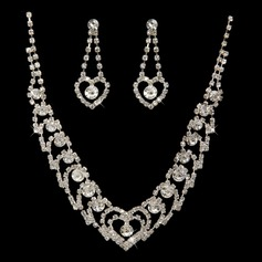 Luxurious Alloy/Rhinestones Jewelry Sets