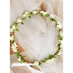 Artificial Silk With Ribbon Flower Headband (198117015)