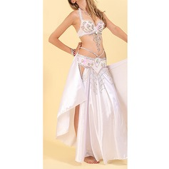 Women's Dancewear Polyester Belly Dance Outfits (115175832)