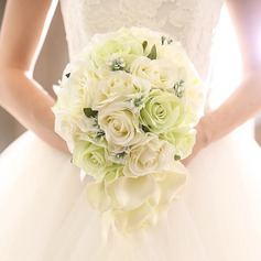 Pretty Satin Bridal Bouquets/Bridesmaid Bouquets -