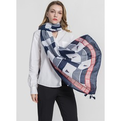 Country Style Light Weight/Oversized Polyester Scarf