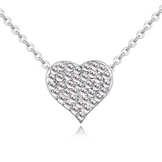 Nice Alloy/Crystal Ladies' Necklaces