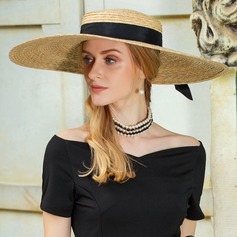 Ladies' Exquisite Rattan Straw Straw Hat