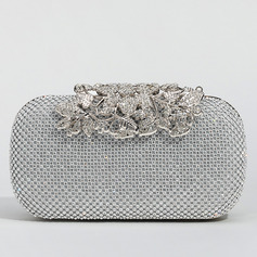 Charming Crystal/ Rhinestone Clutches/Wristlets/Satchel