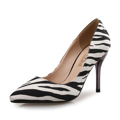 Women's Stiletto Heel Pumps With Animal Print shoes