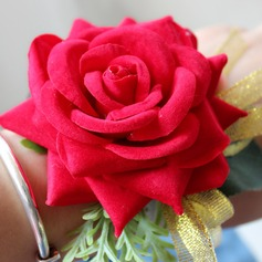 Satin/Silk Wrist Corsage (Sold in a single piece) -