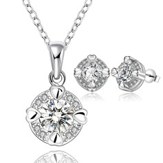 Gorgeous Silver Plated Ladies' Jewelry Sets