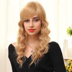 Body Wavy Long Human Hair Wigs