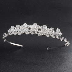 Flower Shaped Alloy Tiaras/Headbands (Sold in single piece)