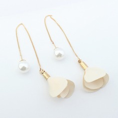 Beautiful Imitation Pearls Copper With Imitation Pearl Ladies' Fashion Earrings