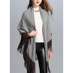Cold weather Polyester Poncho