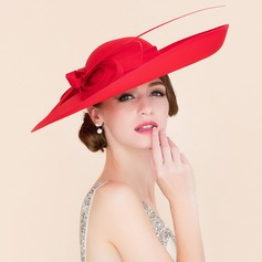 Ladies  Elegant Cambric With Bowknot Bowler Cloche Hat a696bb31d497