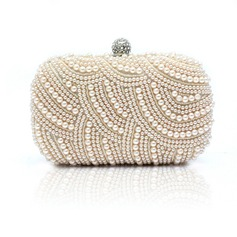 Gorgeous Satin/Pearl Clutches/Satchel